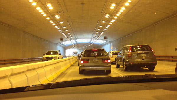 Doyle Drive tunnel