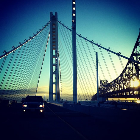 The new #baybridge (Photo courtesy of _canilao/Instagram)