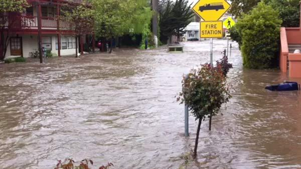 Flooding in Capitola (Submitted by Michael Lee)