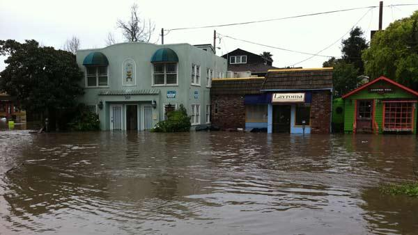 Flooding in Capitola