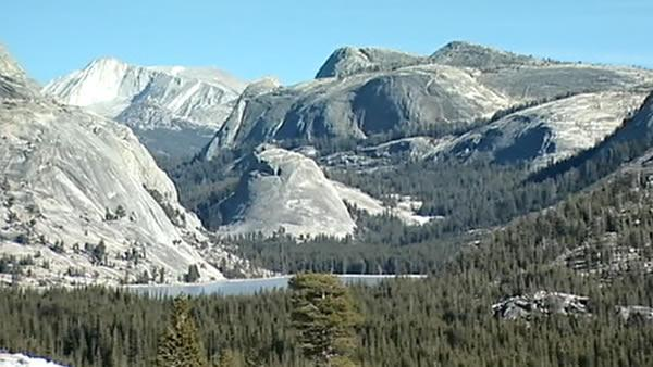 Yosemite has no snow this winter