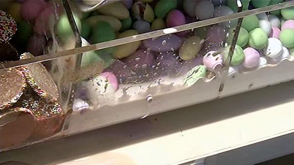 Rain water destroys candy shop's inventory