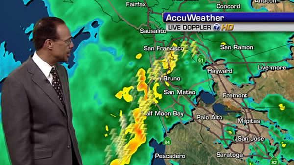 Bay Area experiences thunder, lightning