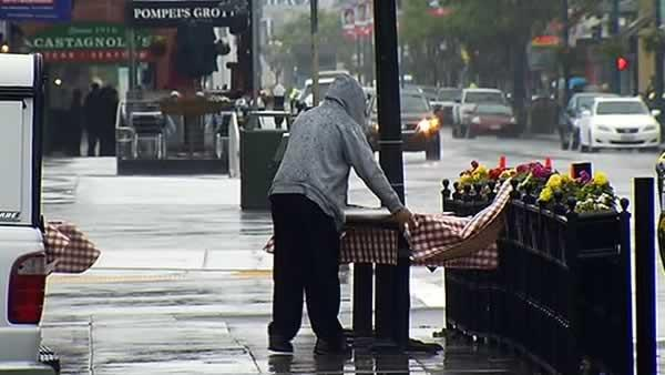 Late spring storm sweeps through Bay Area