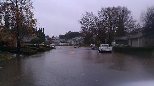 Flooding in Benicia