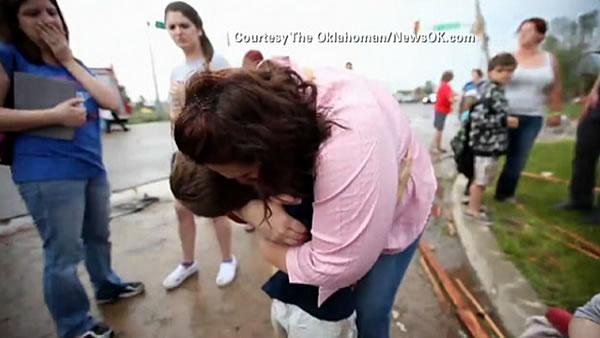 Oklahoma tornado survivors counting blessings