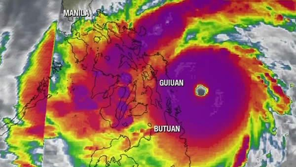 Strongest typhoon of the year slams Philippines