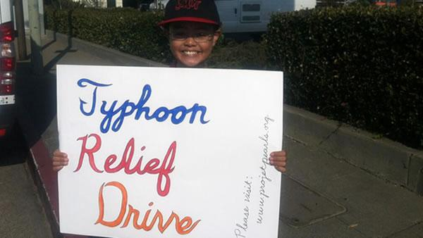 Relief drive held in San Bruno to help typhoon victims