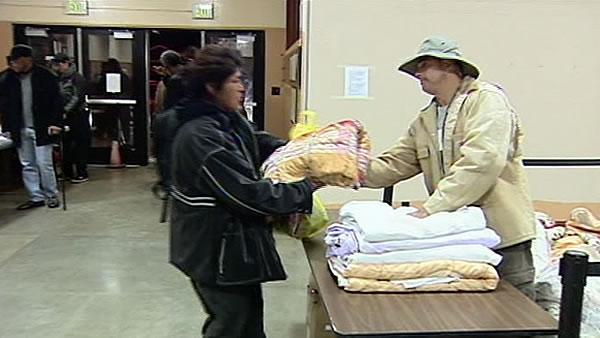 South Bay homeless shelters open ahead of freeze