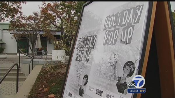 Vendors try to keep warm at pop up event in Oakland