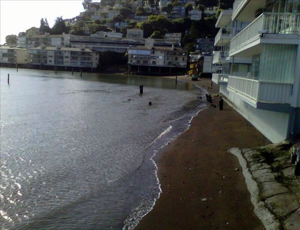 Storm spotted from Sausalito. (Photo submitted...