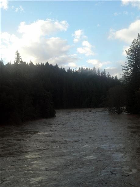 South Fork of the Eel River at Leggett (Photo submitted by Pamela via uReport)