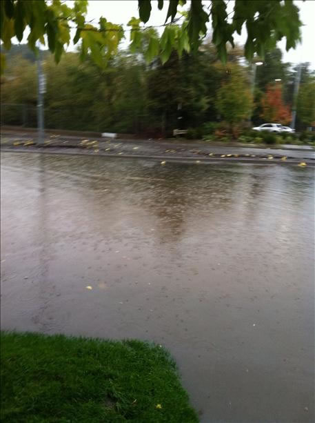 The storm has caused flooding and damage all over the Bay Area (Photo submitted via uReport)
