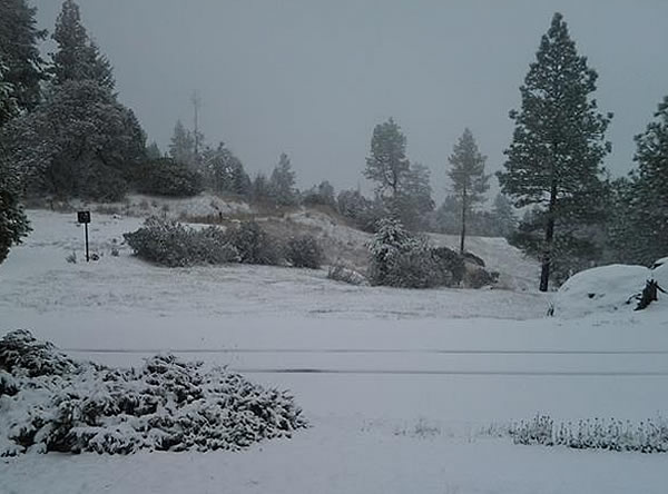 Snowy view in Mendocino County on December 6, 2013 <span class=meta>(Submitted by lcpc@atomicgrandma.com via uReport)</span>