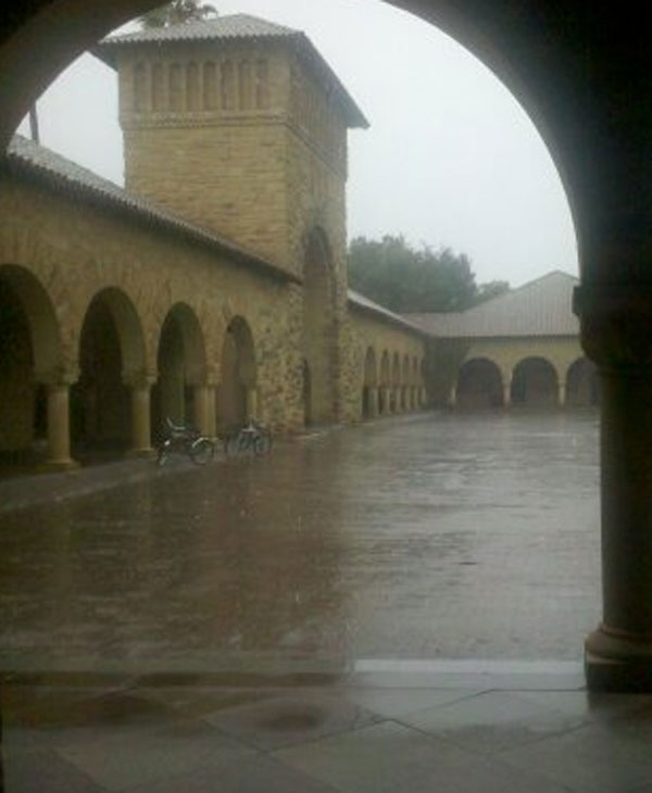 Storm spotted from Stanford University. (Photo submitted via uReport)