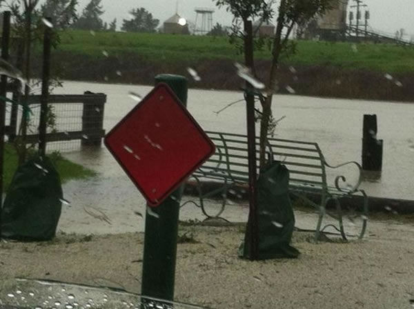 The Petaluma River (Photo submitted via uReport)