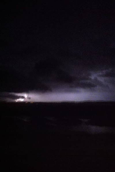"<div class=""meta ""><span class=""caption-text "">Here are some pictures of lightning I captured. I was traveling on east on HWY 37 and you can see lighting near the Richmond Bridge.(Photo submitted by Whitney Branco via uReport)</span></div>"