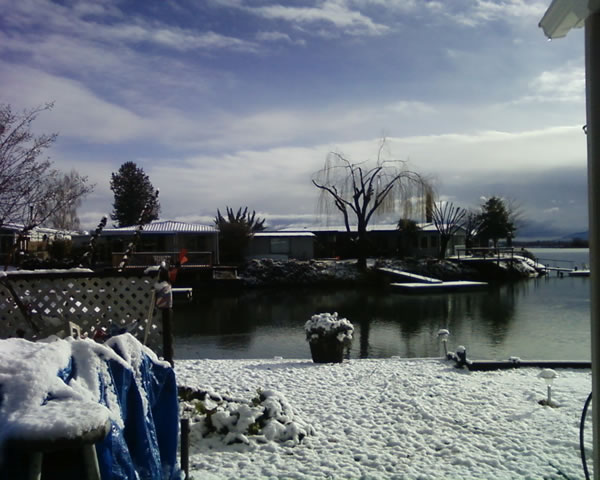 Snow in Lakeport, Calif., February 25, 2011 (Photo submitted by Lynn Spence via uReport)