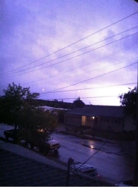 "<div class=""meta ""><span class=""caption-text "">Here are some images of the lightning from the storms that passed through the Bay Area Thursday night. This photo was taken in Hayward.  (Photo submitted by a viewer via uReport.)</span></div>"