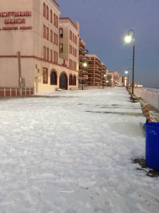 Long Beach boardwalk. (Photo submitted by Felene C. via Facebook)