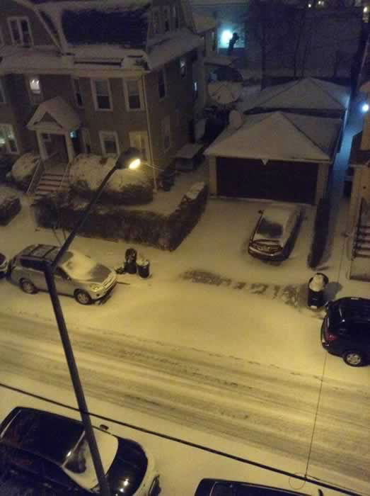 Everyone seems to be getting snow except the Bay Area! Here are photos sent in to ABC7 News from around the country! (Photo submitted by Michael L. via Facebook)