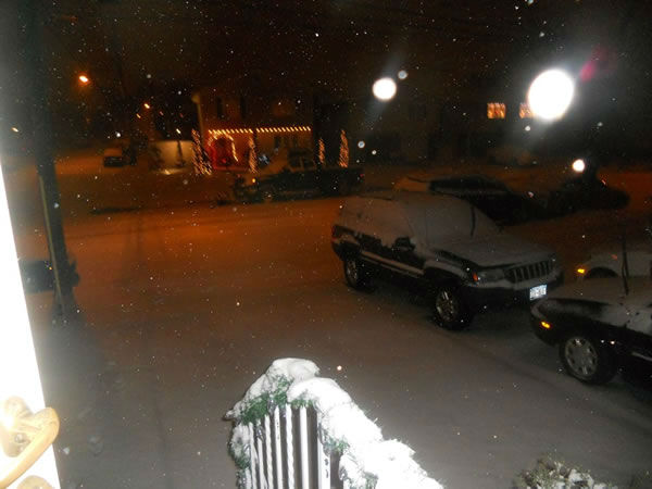 Great Kills Staten Island NY at 9:30 pm. (Photo submitted by Gina A. via Facebook)