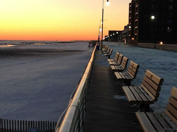 Long Beach boardwalk. (Photo submittted by Felene C. via Facebook)