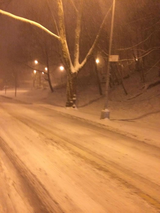 Woodhaven, NY. (Photo submitted by Jackie M. via Facebook)