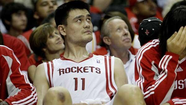 A league source says Yao Ming has informed the league hes retiring. (AP)