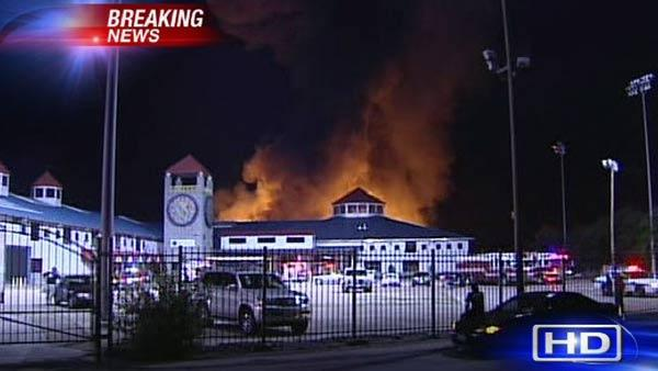 ATF Investigators Say The Massive Fire At The Gallery Furniture Warehouse  Was Intentionally Set | Null
