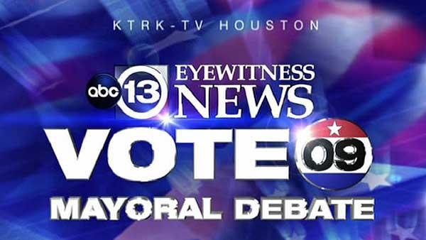 Mayoral runoff debate, candidate questions