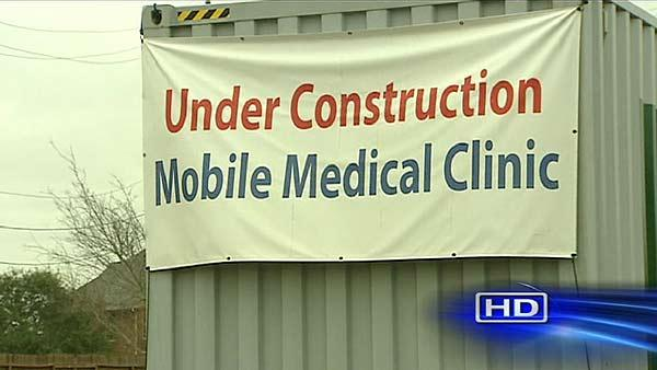 Mobile Medical Clinics Under Construction