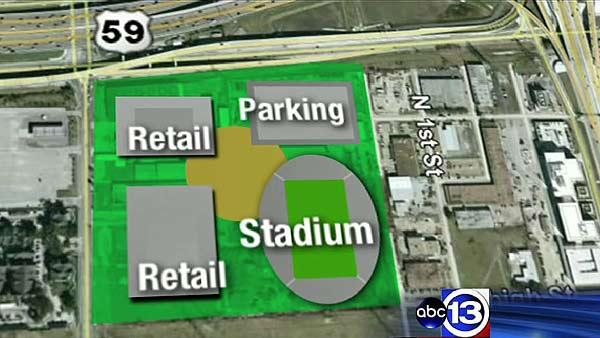 Dynamo looking at stadium site near Galleria