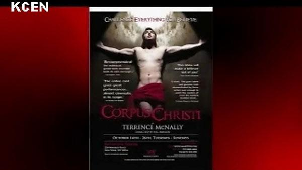 Play portraying Jesus as homosexual stirs controversy