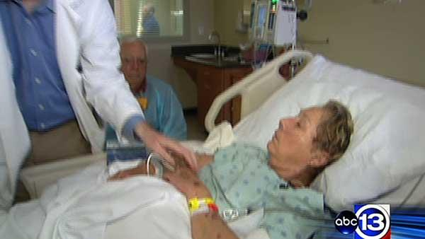 New treatment being tested for stroke patients