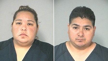 Juanita Sandoval, 31, and Marcus Cantu, 37, of Richmond, Texas, have been charged with manufacture or delivery of a controlled substance.