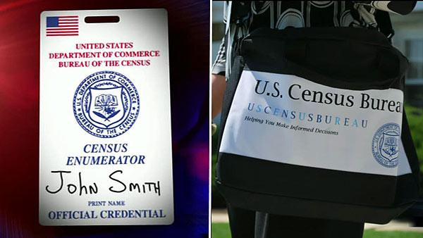 How to tell if a census taker is legit