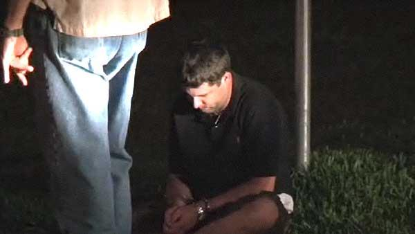 RAW VIDEO: Alleged arson suspect arrested