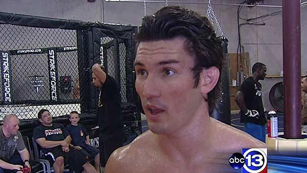 Houston native preps for Strikeforce bout