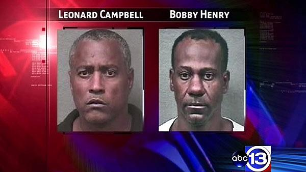Suspects arrested in string of burglaries