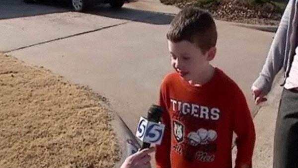 School suspends first grader over hand gestures