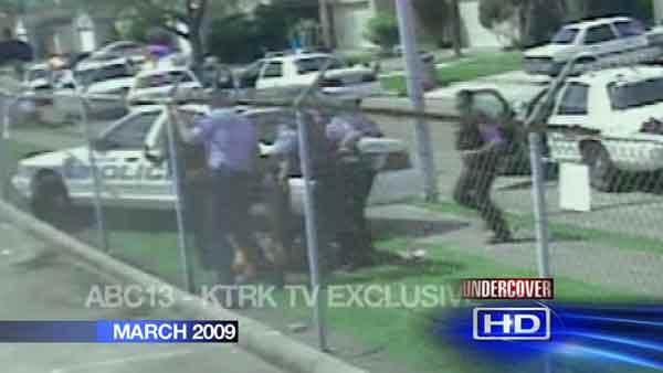 Controversial video of alleged HPD beating of teen burglar