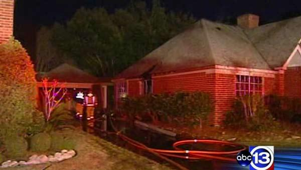 Homeowner critically injured in house fire