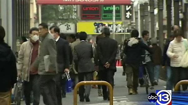 Fears of radiation poisoning in Japan