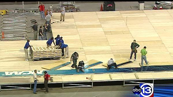 Final Four preps ramp up around Houston