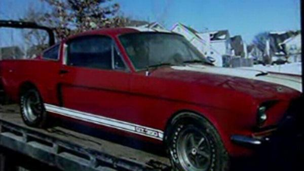 Rare shelby mustang car found in garage video for Garage ad buc