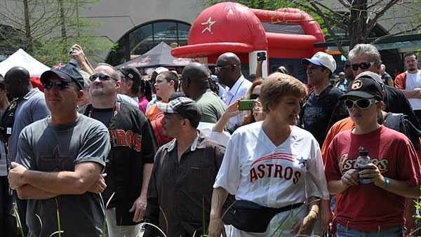 Astros fans ready for winning season