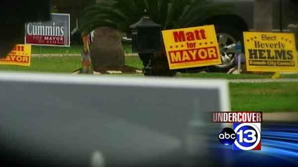 Voter intimidation in Kemah's mayoral election?
