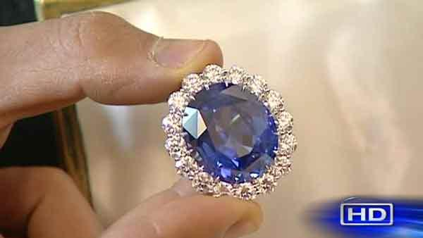 Texas-sized replica of royal engagement ring on sale