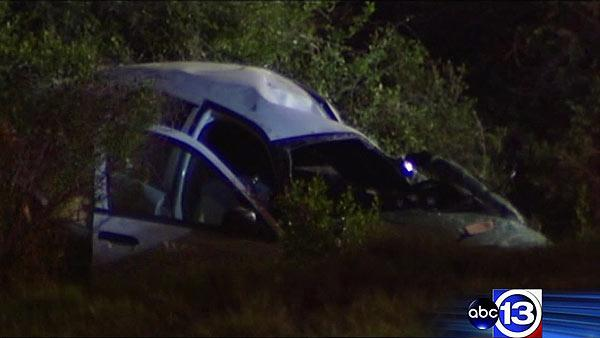Two officers injured after chase ends in crash